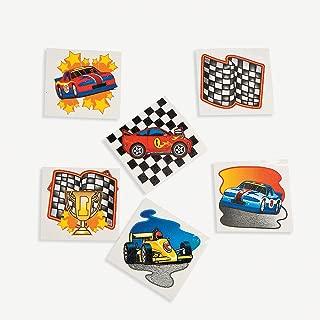 Fun Express Racing Tattoos (6 Dozen)