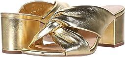 Metallic Gold Leather