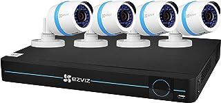 EZVIZ BN-1824A2 CS-BN8-EU 1080p 8CH NVR 2TB 4 Cam met 3000 cm kabel, wit