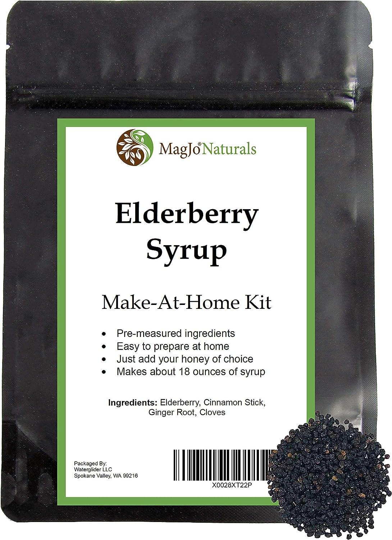 MagJo Naturals Elderberry It is very popular Syrup Kit Makes Ranking TOP3 of K DIY oz 18