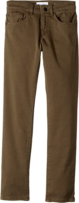 DL1961 Kids - Brady Slim Twill Pants in Squad (Toddler/Little Kids/Big Kids)