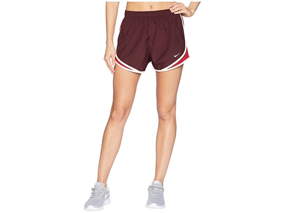 Nike Dry Tempo Short (Burgundy Crush/Red Crush/Wolf Grey) Women