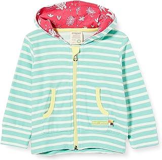loud + proud Striped Jacket Organic Cotton Blouson Bébé Fille