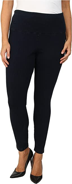 Plus Size Denim Leggings