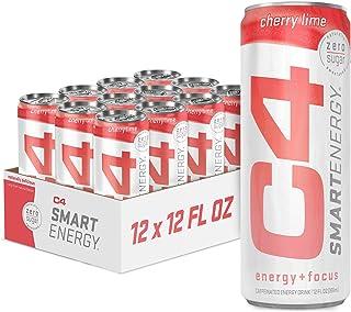 C4 Smart Natural Energy Drinks With Zero Sugar and Zero Calories, Sugar Free, Zero Carbs, | Powered by Green Tea Caffeine ...