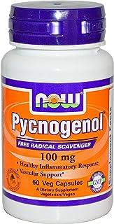 NOW Foods - Pycnogenol 100 mg. - 60 Vegetarian Capsules