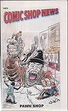 Comic Shop News, no. 1471 (2015) (cover: Pawn Shop): Angelarium; Spider-Man & Black Widow vs Hobgoblin; Adventures of Basil & Moebius; Hopeless Savages Break; Deadpool vs Thanos; Alice Cooper vs Chaos