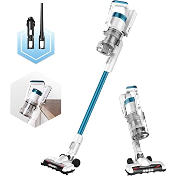 Eureka RapidClean Pro Lightweight Cordless Vacuum Cleaner, High Efficiency Powerful Digital Motor LED Headlights, Convenient Stick and Handheld Vac, Essential