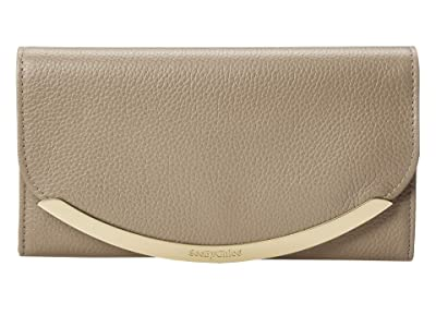 See by Chloe Lizzie Wallet (Motty Grey) Handbags