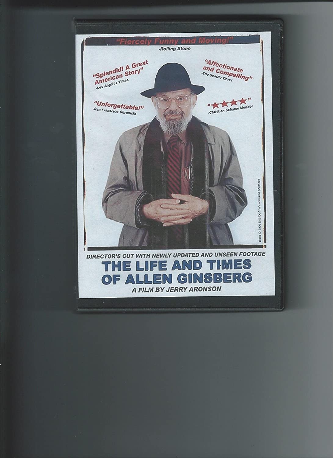 Life and Times of Allen Disc 1 Ginsberg Documentary Challenge the lowest price of Japan ☆ quality assurance