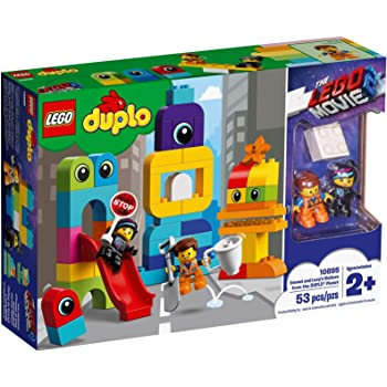 LEGO The Movie 2 Emmet and Lucy's Visitors from The Duplo Planet Building Blocks (53 Pcs)10895