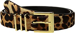 LAUREN Ralph Lauren - Haircalf Triple Keeper Belt