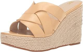 صندل نسائي من BC Footwear Eden Espadrille Wedge