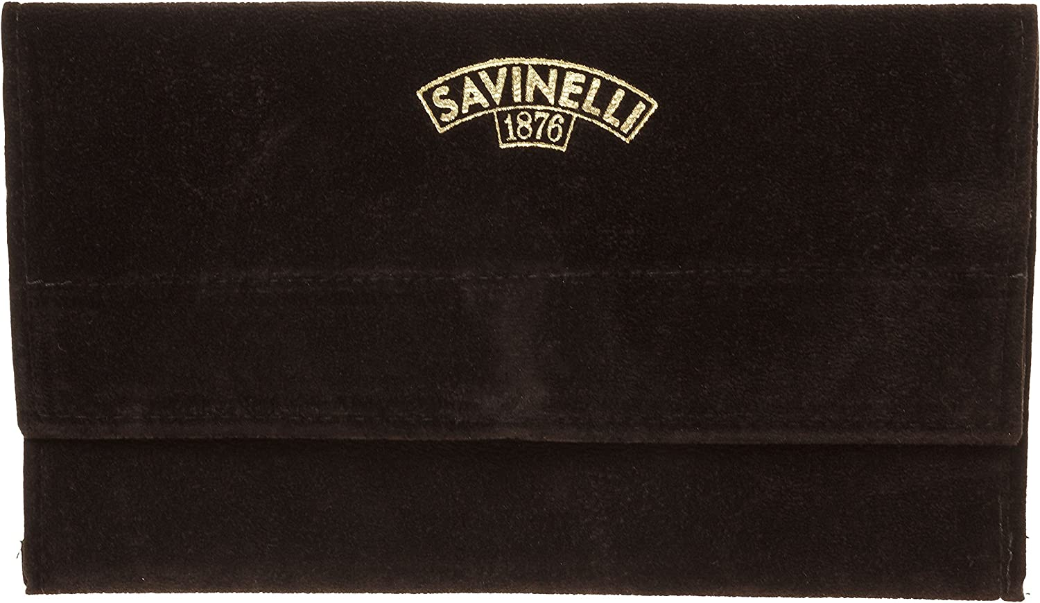 Savinelli Velvet Tobacco Limited time sale Pipe Pouch - Brown low-pricing