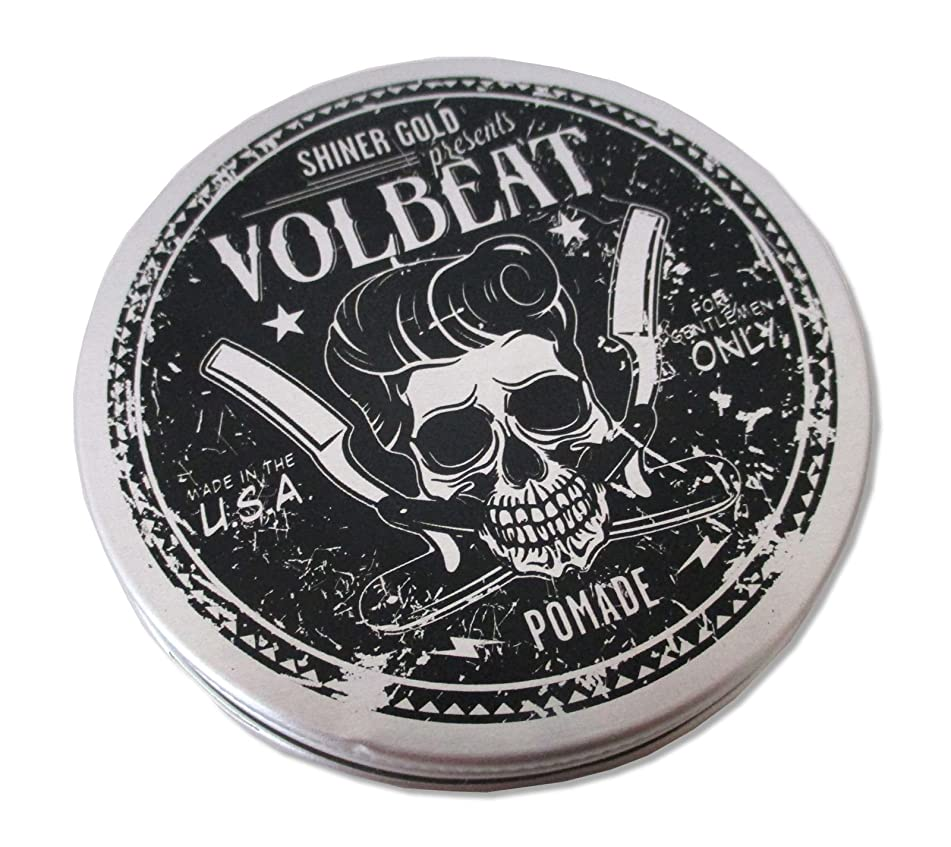 Volbeat Shiner Gold Pomade Hair Styling Gel New Official by Volbeat