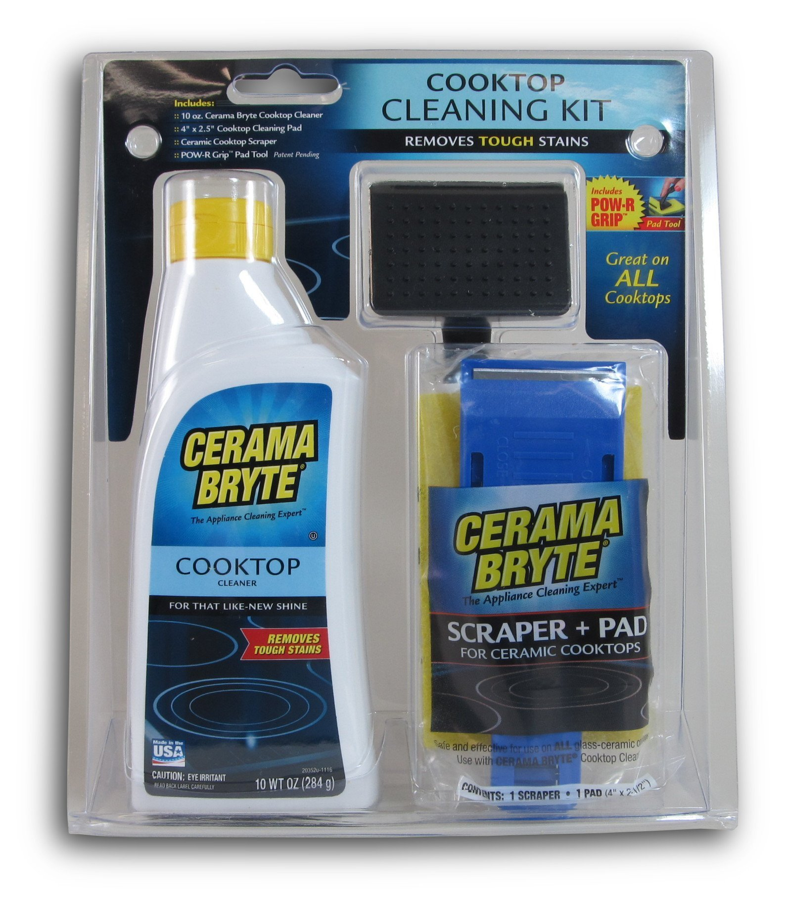 Cerama Bryte Cooktop Cleaning Cleaner