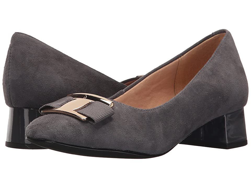 Trotters Louise (Dark Grey Soft Suede) Women