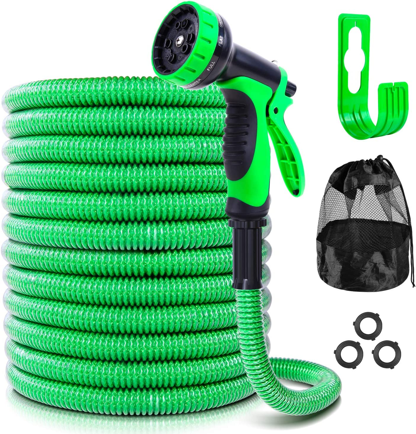 Garden Hose with 10-Function Dealing Direct store full price reduction Spray FT Ohuhu Nozzle Patented 25