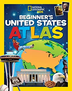 National Geographic Kids Beginner`s United States Atlas