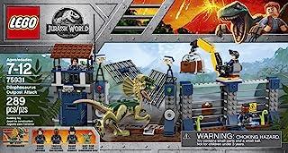 LEGO Jurassic World Ataque del Dilofosaurio al Puesto