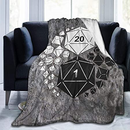 Dungeons /& Dragons Plush Fleece Gift Throw Blanket Critical Role 45 X 60 New