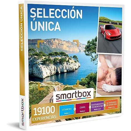 Smartbox - Caja Regalo Selección única - Idea de Regalo Original - 1 Estancia, Actividad de Bienestar, Aventura o Cena para 1 o 2