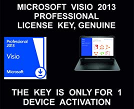 Visio 2013 Professional, License Key, Genuine, For 1 Device Activation