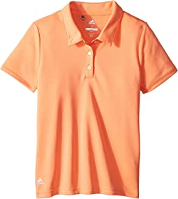 adidas Golf Kids - Performance Short Sleeve Polo (Big Kids)