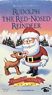 Rudolph the Red Nosed Reindeer VHS