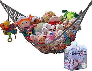 MiniOwls Toy Hammock Organizer Plush Toy Storage for Baby/Nursery or Bed Room. Fits All..