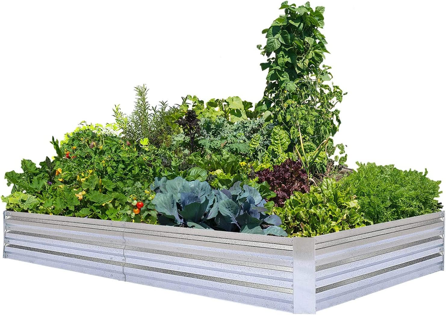 Special Campaign Bombing new work Galvanized Raised Garden Beds for Metal Planter Large Vegetables