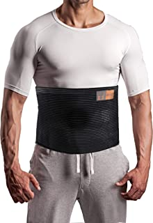 Plus Size Umbilical Hernia Support Belt I Pain and Discomfort Relief from Umbilical, Navel, Ventral and Incisional Hernias I Hernia Binder for Big Men and Large Women I XXXL/3XL