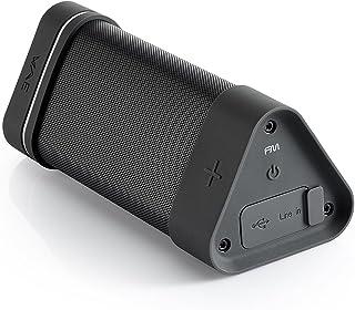 Hercules WAE Outdoor 04Plus FM, Wireless Bluetooth Speaker [Waterproof, Dust-, Shock-Resistant, featuring a built-in FM ra...