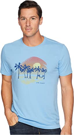Sunset Palms Crusher T-Shirt