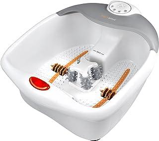 medisana FS 885 voetbubbelbad met voetreflexologie - elektrisch voetbad, warmtefunctie, vibratiemassage, timerfunctie, voe...