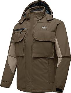 Wantdo Men`s Warm Ski Jacket Mountain Waterproof Parka Outdoors Windbreaker