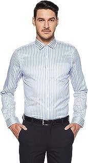 Excalibur by Unlimited Men's Plain Regular Fit Formal Shirt