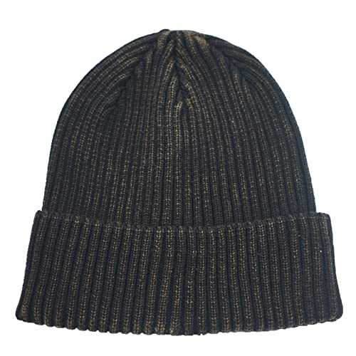 Home Prefer Retro Winter Beanie Skull Cap Warm Knit Cotton Hat for Men and  Women c9b17c49bfe1