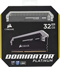 Corsair Dominator Platinum 32GB (2x16GB) DDR4 3200MHz C16 Desktop Memory