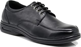 New FINN Mens Black Oil Resistant Professional Restaurant Anti Slip Restaurant Rubber Air Sole Working Comfy Industrial Shoes (9, Finn 01)