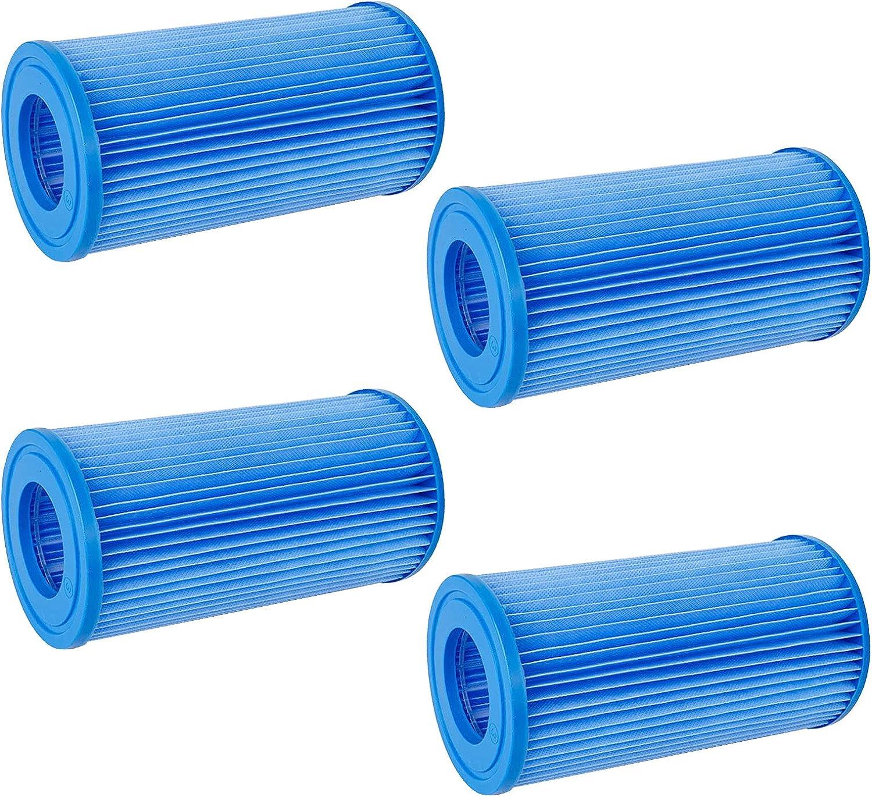 Filtro de piscina Tipo de repuesto A/C para cartuchos de filtro Bestway tipo III, filtro inflable de piscina