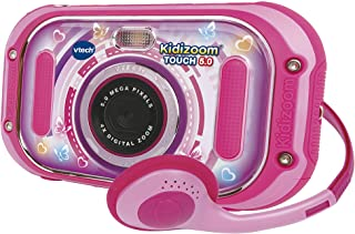 VTech Kidizoom Touch (Pink), Dual Lens Kids Camera, Digital Camera for Photos and Videos, Kids Action Camera with Fun Effe...