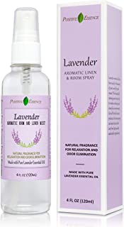Lavender Linen and Room Spray, Made with Pure Lavender Essential Oil, Natural Pillow Spray, Relaxing Home Fragrance, Sleep...