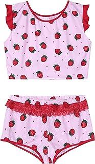 YUUMIN Men Sissy Lingerie Set 2 Piece Crop Top Bra Lace Trim Panties Underwear Crossdesser Nightwear
