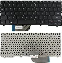 Zahara US Keyboard Layout Black Replacement for Lenovo Ideapad 100S-11IBY 100S-11IBY-Type 80R2