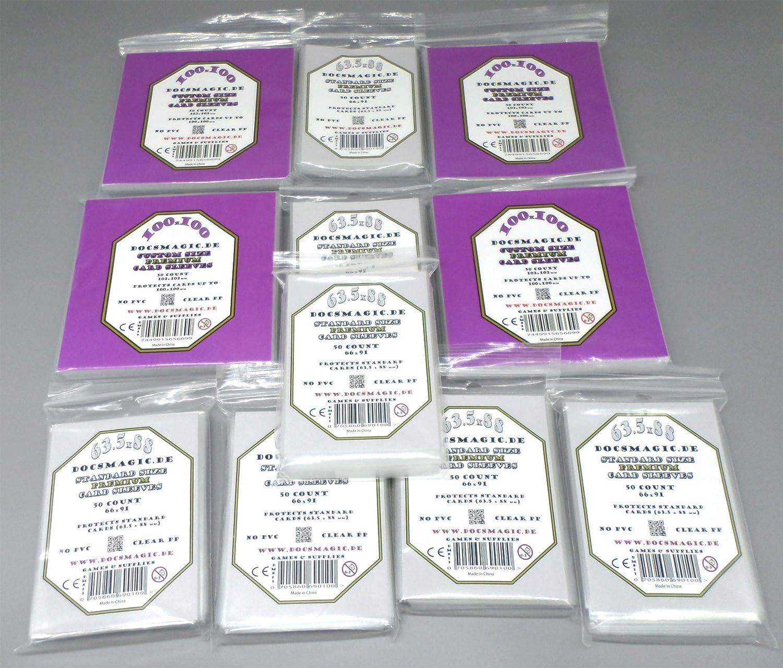 docsmagic.de Wingspan Premium Card Sleeves Bundle 5 Packs 59 ...