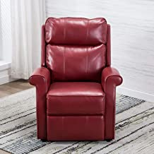 Comfort Pointe Lehman Red Traditional Lift Chair