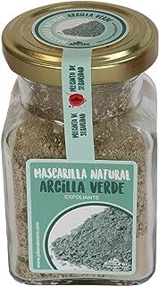 Jabón Zorro D'Avi | Mascarilla de Arcilla Verde en Polvo | 150 ml | Mascarilla Facial para Pieles Mixtas y Grasas | Limpia...