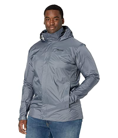 Marmot Big Tall PreCip(c) Eco Jacket (Steel Onyx) Men