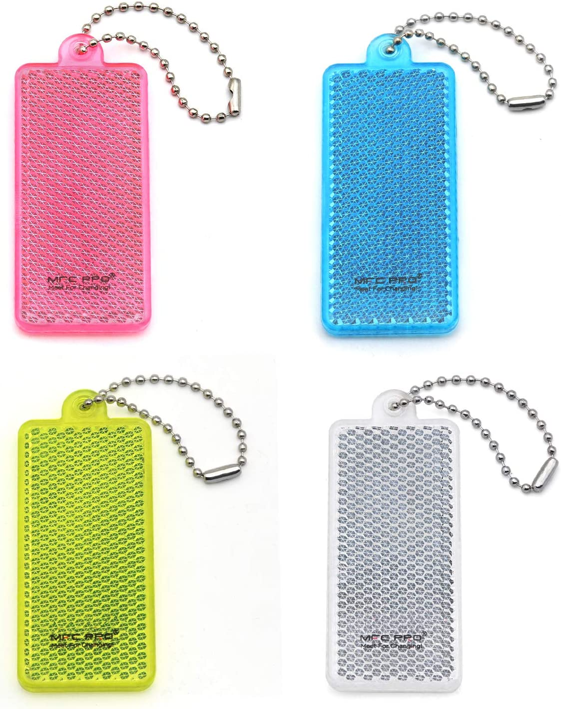 4Pcs Super Bright Children's Stylis New product!! Gear Reflective Safety Award-winning store